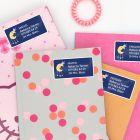 Paquete de Etiquetas para Libros Escolares