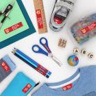 Pack Mega Escolar con 214 etiquetas (Pack)